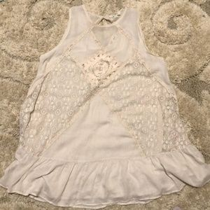 Umgee Taupe Embroidered Dress